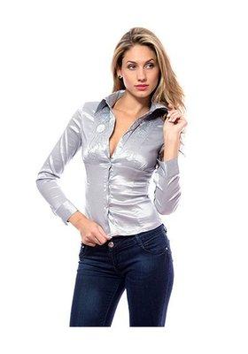 efe59c0b2544acb 24 Красивая атласная рубашка женская с пайетками: 180 грн - женские ...