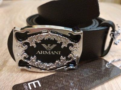 Кожаный стильный ремень Armani