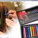 Мелки для волос Hair Chalk набор 12 цветов