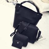 Модный повседневный набор сумок 4в1 В Наличии