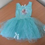 Каранавальное платье девочке 3-4 года Disney Дисней оригинал Анна и Эльза