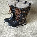 Чобітки снігоходи зимові шкіра оригінал Sorel NL2193-010 розмір 37,40