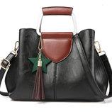 Элегантная женская сумка с мраморным оттенком В Наличии