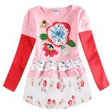 Платье-Туника с цветами TM Nova