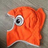 Шапка, шлем Trespass 6-10 лет. Ог 52-56см. Шотландия. Рыбка, рыба. Зимняя шапка, шапочка