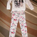 Оригинальные джинсы Old Navy для модницы 7-8 лет Качество Оригинал