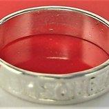 Кольцо перстень серебро 925 проба 18,5 размер 2,58 гр. Playmoment