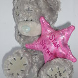 Мишка Teddy 12см star sisters