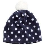 двойная флисовая шапка на девочку H&M 1-4ujlf
