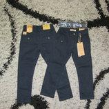 Школа коттоновые брюки для мальчиков р. 116-146