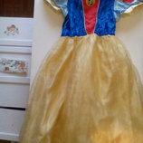 сдаю в прокат платье Белоснежка до 9 лет