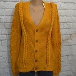 Вязаный кардиган свитер Zara, S/М