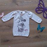 Теплое платье с Minny Mouse Disney