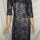 Платье кружевное размер 12