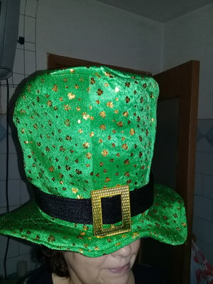Карнавальная шляпа цилиндр Эльфа взрослая.