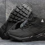 Зимние кроссовки Nike Huarache black