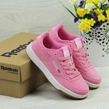 Кроссовки Reebok Workout pink