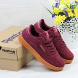 Кроссовки Reebok Workout burgundy