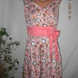 Новое платье с оригинальным принтом lindi bop