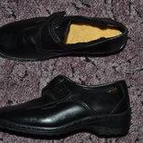Р. 36 - 23.5 см. ItalconfortTex Luftpolster. Закрытые туфли с мехом, мокасы. Фирменные оригинал