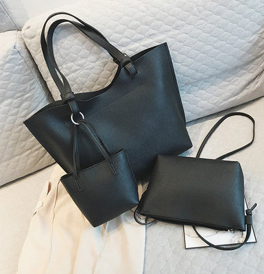 Набор женских сумок Mood 3 в 1 - большая сумка a4fd52d59c9f8