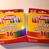 Восковые карандаши Playskool от Hasbro, 36 штук