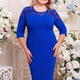 Оригинальное платье большого размера Мая, 52-62рр