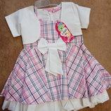 Нарядное детское платье с болеро