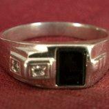 Кольцо Перстень Серебро 875 Проба 4,67 Гр 19 Разм Playmoment