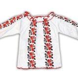 Детская блуза с принтом Вышиванка