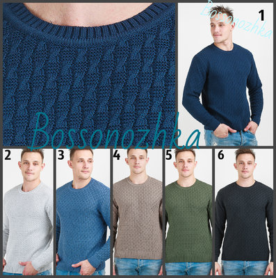 M-XXL. Свитер вязаный мужской, весна лето осень, джемпер мужской, Чоловічий светр
