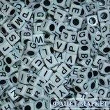Английский алфавит набор бусин для творчества