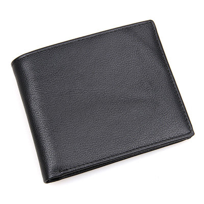 Кошелек с чипом кожаный портмоне кожаное мужское R-8029A