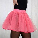 Фатиновая юбка 3-х слойная, для танцев и гимнастики.