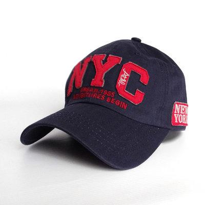 Мужская бейсболка NYC - 2442
