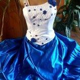 Нарядное длинное платье для праздника, выпускного, торжества, коктейля и т. д.