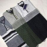 Пуловер тонкий 5 пуговиц Рост 116 - 140
