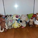 Мягкие игрушки из мультфильма Ледниковый период. Дисней Дісней Disney