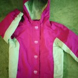 Зимняя куртка на 3-4года