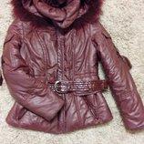 Куртка женская с мехом р.48