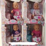 Пупс Baby Birt функциональный аналог Baby Born 8006-14