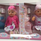 Пупс Baby Birt функциональный аналог Baby Born 8006-13