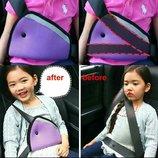 Адаптер Ременя безпеки Дитячий В автомобіль. Автомобильный адаптер ремня безопасности для детей