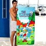 Детские пляжные полотенца The Smurfs - 1636