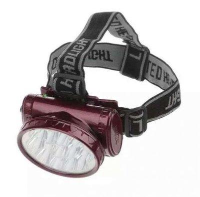 Фонарь аккумуляторный LED головной фонарик светодиодный
