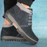 Мужские зимние ботинки Norman dark blue