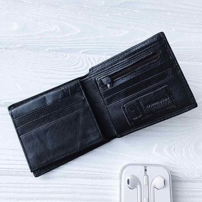 86a0de5b4901 Стильный кожаный мужской кошелек TIDING BAG портмоне натуральная кожа A7-270 -1A