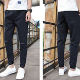 Стильные мужские коттоновые брюки Moment AL8408