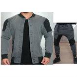 Стильный мужской спортивный костюм 2 цвета AL7656