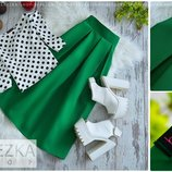 Хит сезона Шикарная классическая юбка Колокол миди есть вариант пошива с карманами тип тюльпан